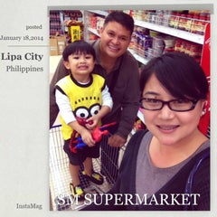 Photo taken at SM Supermarket by Jewell Anne L. on 1/18/2014