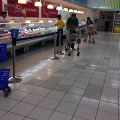 Photo taken at SM Supermarket by Jewell Anne L. on 2/6/2014