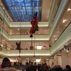 Photo taken at De Bijenkorf by Wenwen Z. on 11/23/2012