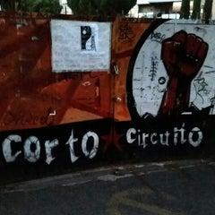 Photo taken at Centro Sociale Corto Circuito by ErMatteo on 7/1/2014