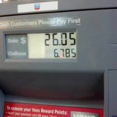 Photo taken at Chevron by Colleen R. on 1/3/2013
