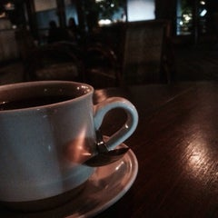 Photo taken at Djendelo Koffie by Robby D. on 7/1/2015