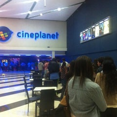 Photo taken at Cineplanet by Cristobal R. on 10/28/2013