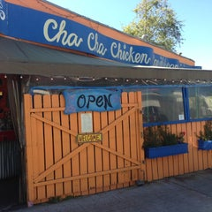 Photo taken at Cha Cha Chicken by Mark W. on 3/13/2013