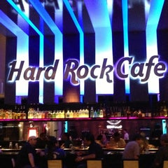 Photo taken at Hard Rock Cafe Santiago by Nico E. on 3/11/2013
