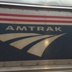 Photo taken at Amtrak Station by Chris D. on 5/21/2013