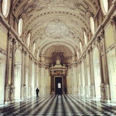 Photo taken at Reggia di Venaria Reale by Franz. on 10/14/2012