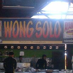Photo taken at Ayam Bakar Wong Solo by Mathius P. on 11/4/2012