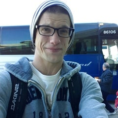 Photo taken at Greyhound Bus Lines by Patrick H. on 10/29/2013
