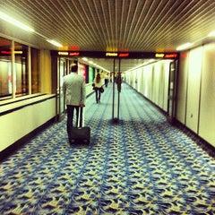 Photo taken at Bahrain International Airport (BAH) | مطار البحرين الدولي by Alexey S. on 10/8/2012