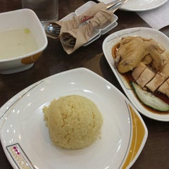 Photo taken at Hainanese Delights by Miguel S. on 4/24/2014