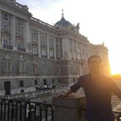 Photo taken at Hotel Opera Madrid by Lim C. on 10/9/2015