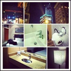Photo taken at Cosmopolitan Hotel - TriBeCa by Aaron N. on 11/18/2012