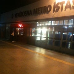 Photo taken at Yenibosna Metro İstasyonu by Erhan Ç. on 10/11/2012