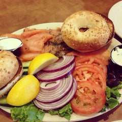 Photo taken at Chompie's Deli by Kay T. on 3/3/2013