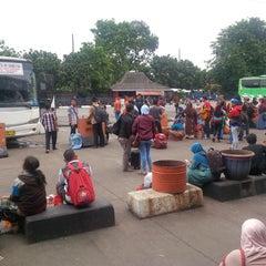 Photo taken at Terminal Kampung Rambutan by Yudi A. on 4/3/2015