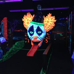 Photo taken at Monster Mini Golf by Brant F. on 4/25/2013