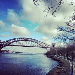 Photo taken at Astoria Park Parking Lot by Michael N. on 2/24/2013
