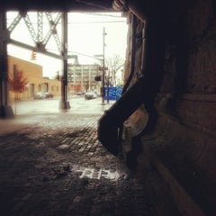 Photo taken at Queensbridge Basketball Courts And Playgrounds by Michael N. on 12/9/2012