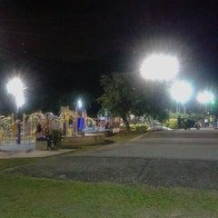 Photo taken at Parque Esmeralda by Virginia R. on 9/17/2012