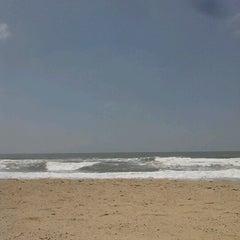 Photo taken at Praia Brava by Patricia O. on 10/18/2012