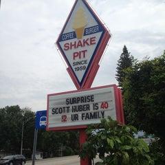 Photo taken at Shake Pit by Rachael B. on 4/20/2013