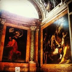 Photo taken at Chiesa di San Luigi dei Francesi by Alessandro C. on 6/15/2013
