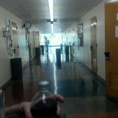 Photo taken at UCLA Rolfe Hall by Jesse Z. on 10/1/2012