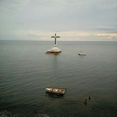 Photo taken at Sunken Cemetery Cross by Nerriza L. on 6/25/2015