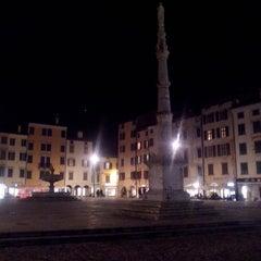 Photo taken at Place San Iacum by Luca Giantin on 1/21/2014