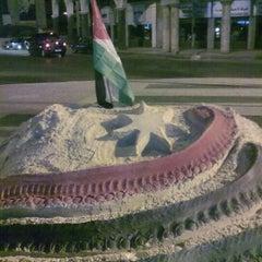Photo taken at Waha Circle | دوار الواحة by Hassan N. on 11/17/2012
