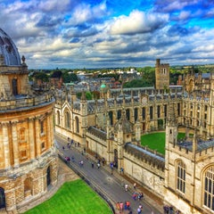 Photo taken at Bodleian Library by Nihan U. on 9/2/2015