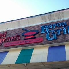 Photo taken at Red Beans Bayou Grill by Eliza J. on 10/3/2012