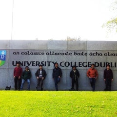 Photo taken at University College Dublin by Nazri K. on 10/7/2012