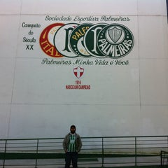 Photo taken at Sociedade Esportiva Palmeiras by Antonio J. on 7/28/2013