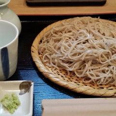 Photo taken at 手打蕎麦 松永 by Satoshi K. on 8/1/2013