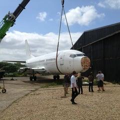 Photo taken at Lasham Airfield by Katie M. on 7/1/2013