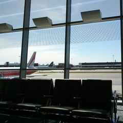 Photo taken at Gate B19 by Max G. on 9/19/2012
