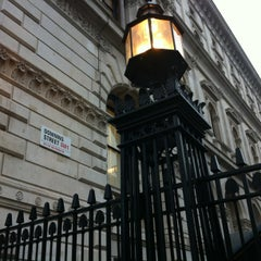 Photo taken at 10 Downing St. by Rogério M. on 3/7/2013
