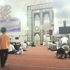 Photo taken at Masjid Istiqlal by Bustari R. on 9/30/2012