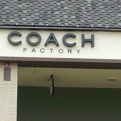 Photo taken at Coach Factory by Ana C. on 10/5/2013