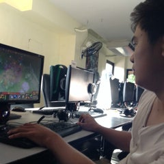 Photo taken at Mineski Infinity by Mary Angelie O. on 1/6/2014