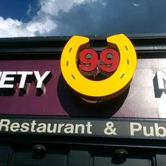 Photo taken at Ninety Nine Restaurant by Dana on 8/2/2013