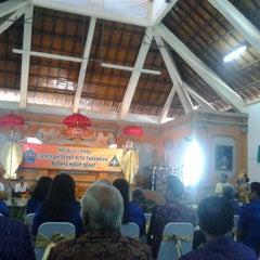 Photo taken at SMPN 1 Denpasar by Wayan S. on 11/7/2013