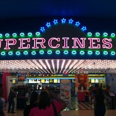 Photo taken at Super Cines 10 by Javier C. on 1/12/2013