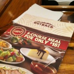 Photo taken at Outback Steakhouse by Matt L. on 10/15/2012