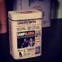 Photo taken at Gazzetta Store by Gianluca on 10/26/2014