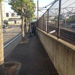 Photo taken at 男川駅 (Otogawa Sta.) by Entotuya I. on 5/22/2014