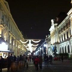 Photo taken at Lipscani by Skokan C. on 11/23/2012