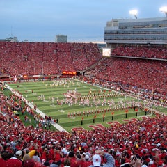 Photo taken at Memorial Stadium by HISTORY on 12/6/2012
